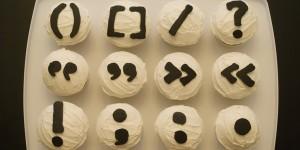 Punctuation-cupcakes